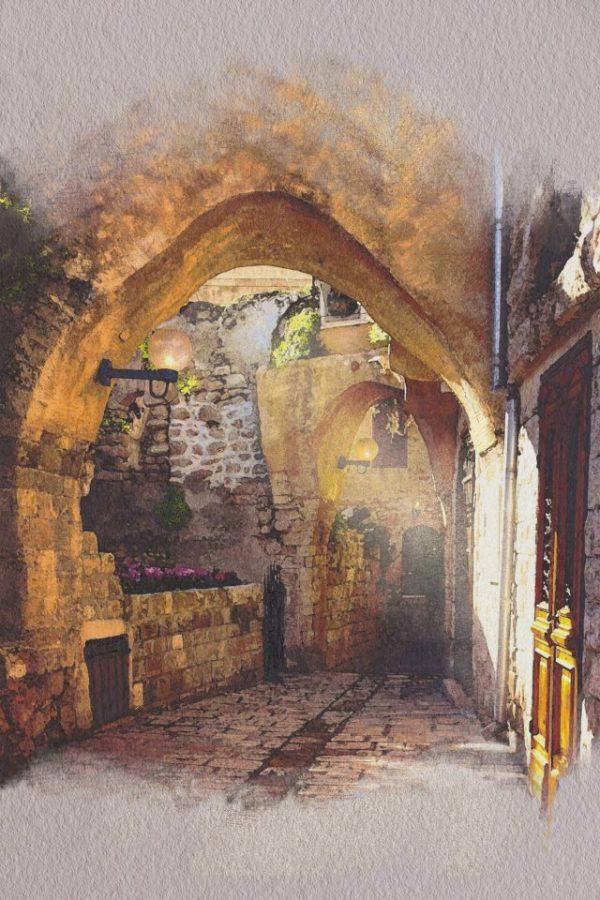 Jaffa Alleyway
